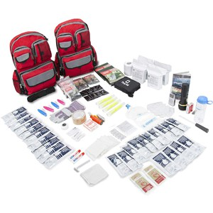 Emergency Zone 4 Person Family Prep 72 Hour Survival Kit/Go-Bag
