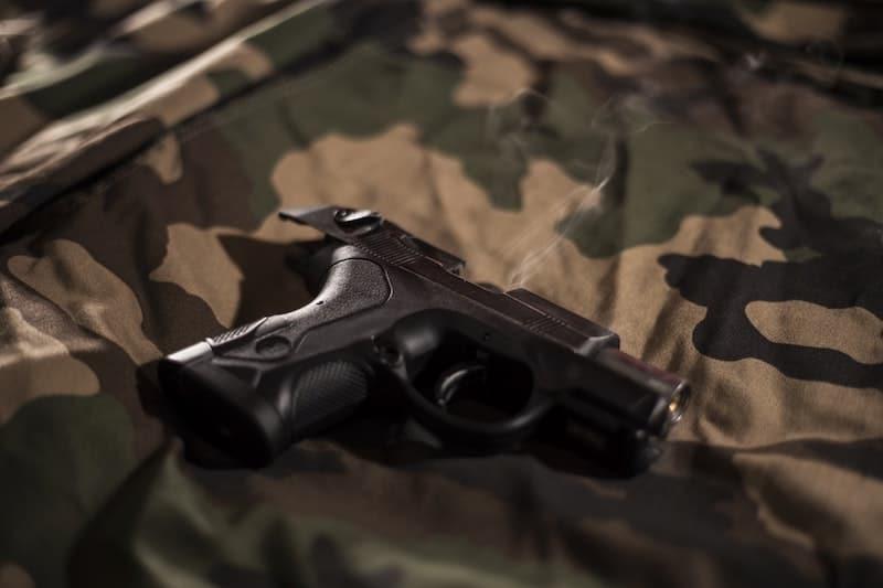 Camo Gun holster CCW
