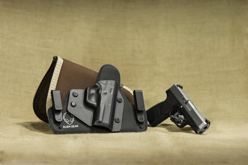 Waist carry conceal holster