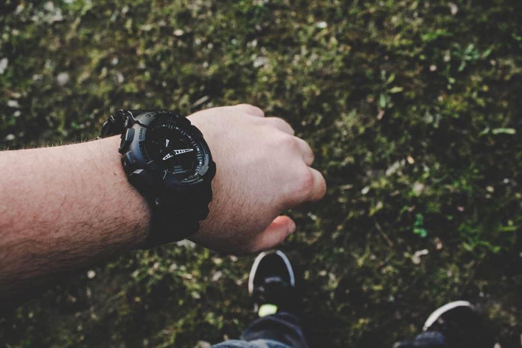 tactical watch in field duty