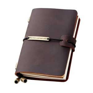 Refillable-Handmade-Travelers-Notebook