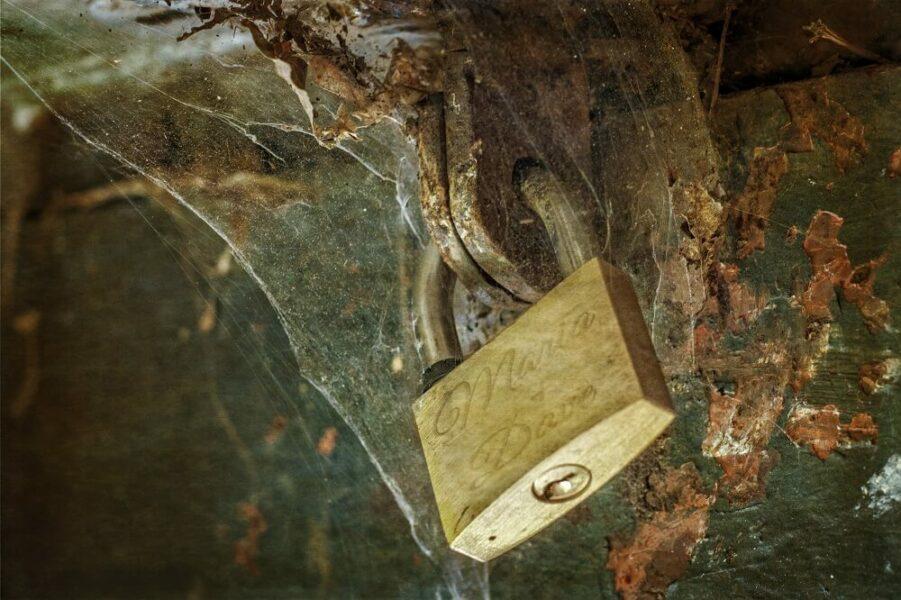locked gun safe