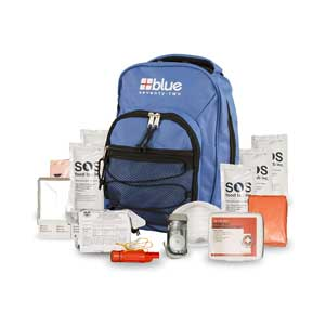 Blue-Coolers-Blue-Seventy-Two--72-Hour-Emergency-Backpack-Survival-Kit-for-1-Person