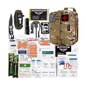 EVERLIT-250-Pieces-Survival-First-Aid-Kit-IFAK-Molle-System
