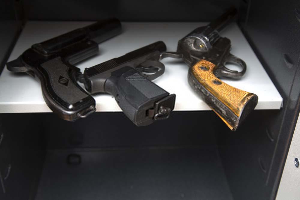 Gun safe too dry