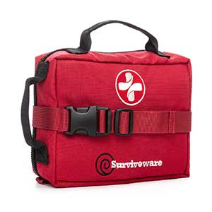 Surviveware-Survival-First-Aid-Kit-(Red)