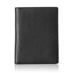 AmazonBasics-Leather-RFID-Blocking-Passport-Holder-Wallet