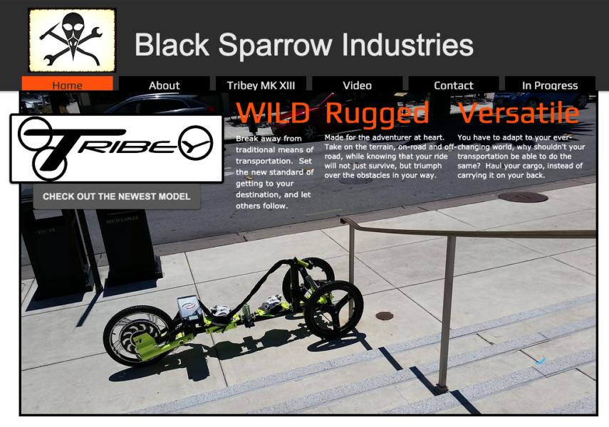 BlackSparrotIndustries.com History