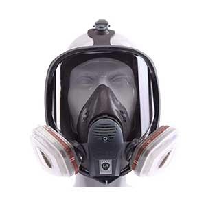 Respirator,-Full-Face,-Clear-Lens,-Reusable,-Large,-6900