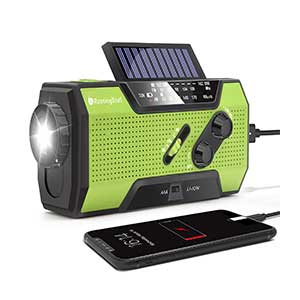 RunningSnail-Solar-Crank-NOAA-Weather-Radio-for-Emergency-with-AM-FM