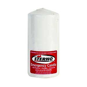 Sterno Emergency survival candle