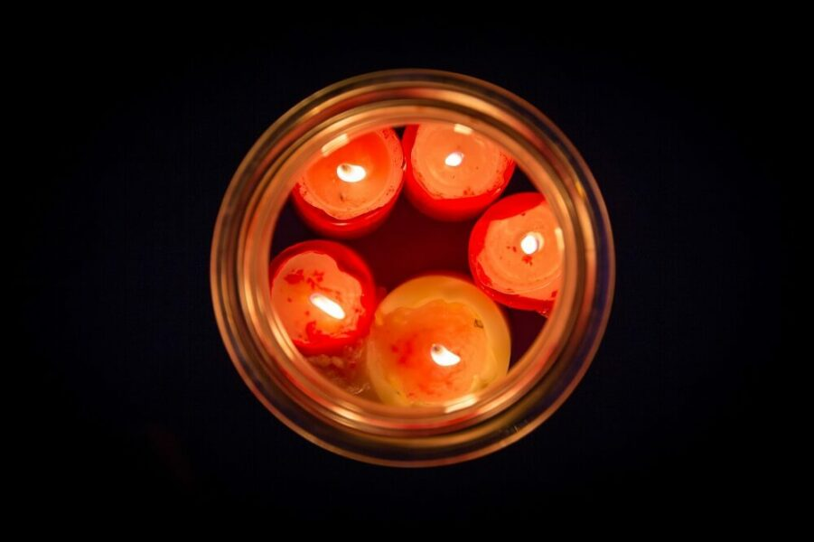 Emergency survival candles