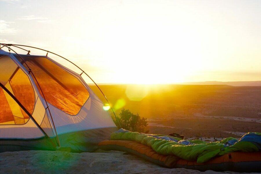 sunrise camping