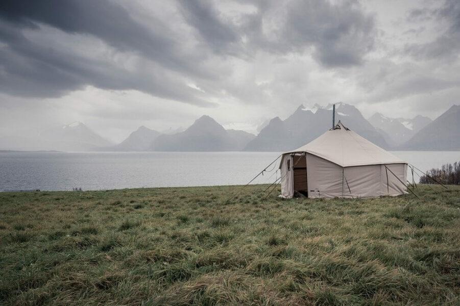 vintage tent